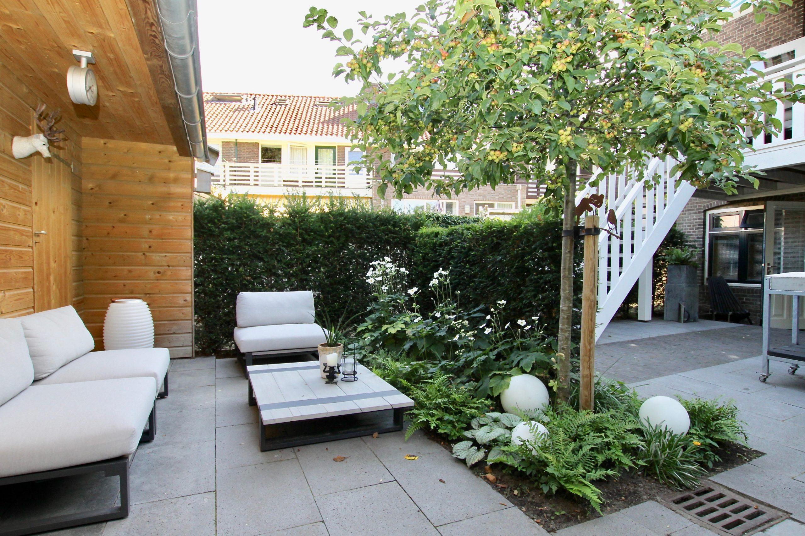 appartement met tuin